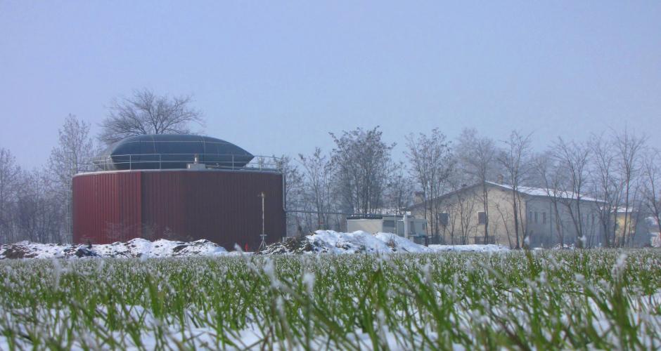 Con il biogas si semplifica l'uso dei reflui zootecnici