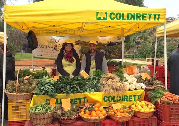Il ricatto nei mercati di Coldiretti
